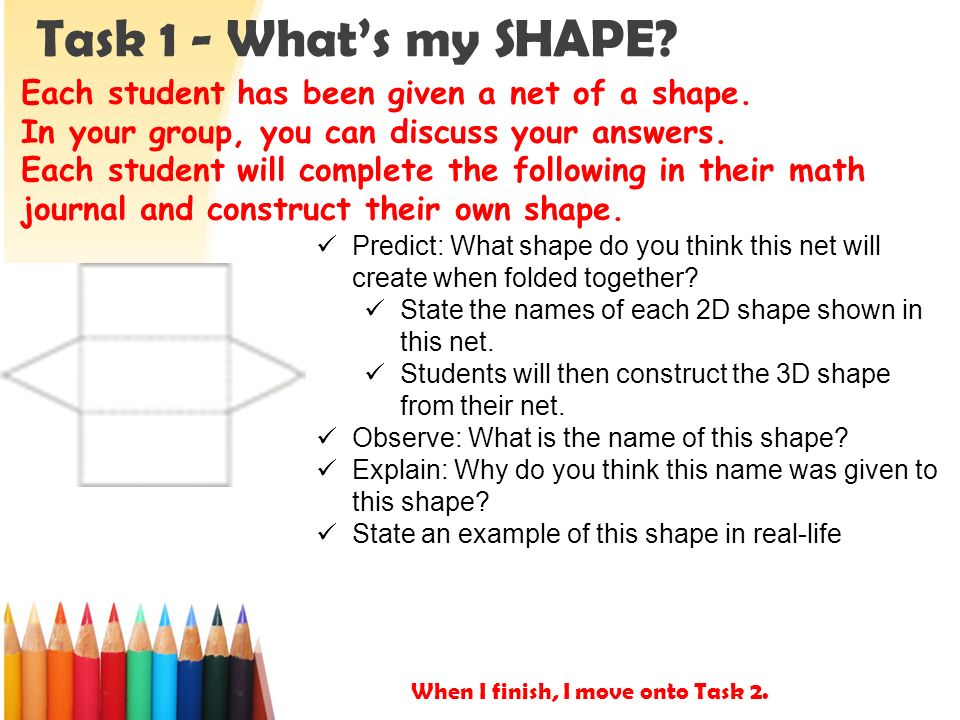 3d shapes nets tuesday november ppt video online download Make your own 3d shapes online