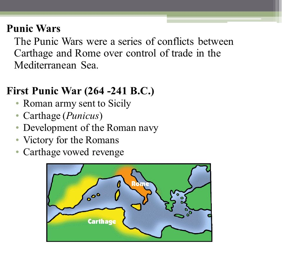 first punic war between rome and