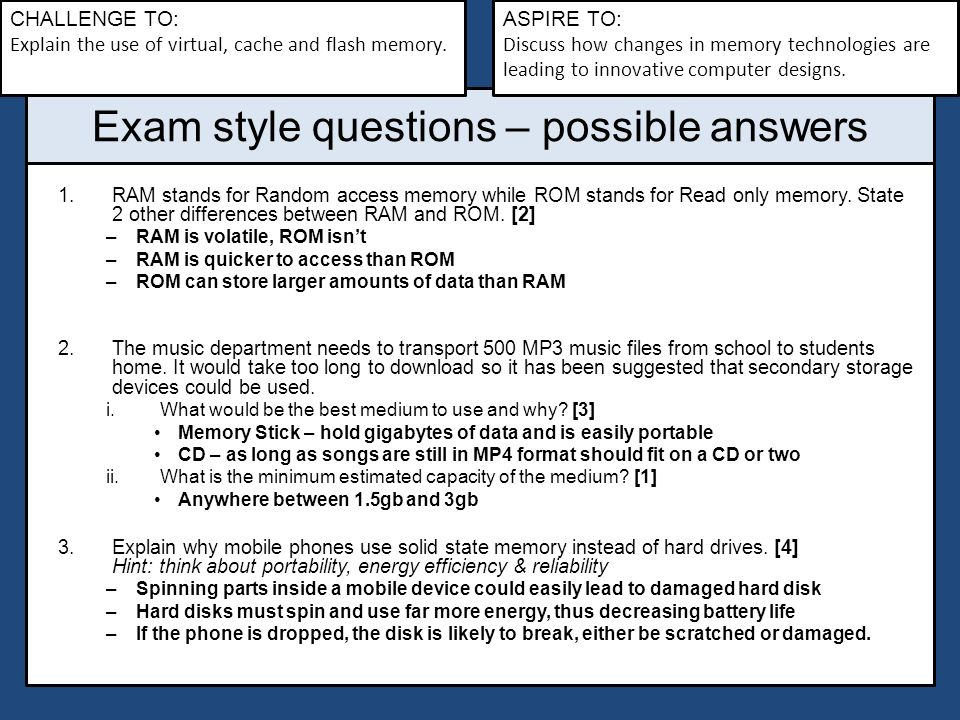 questions and answers on computer memory Teradata interview questions sas interview questions computer system analyst (software) interview questions  explain what type of memory that can be erased with .