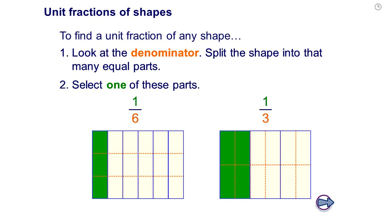worksheet Shape Fractions fractions of shapes ppt download unit shapes