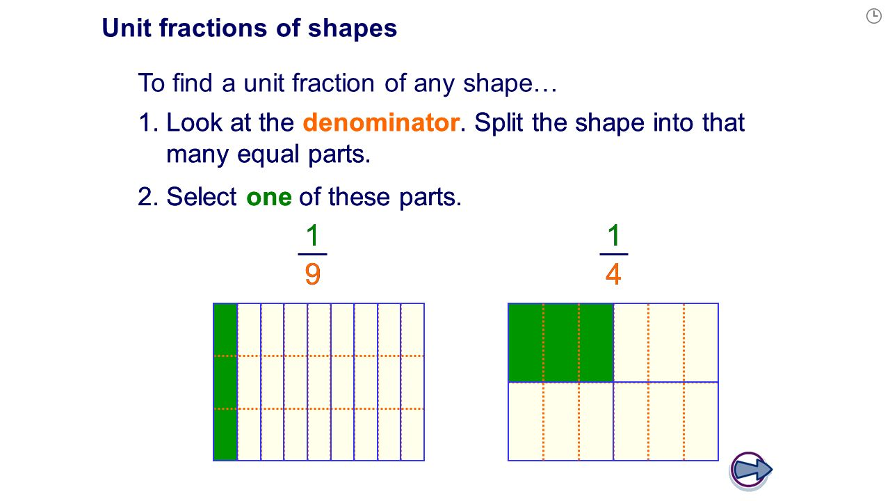 worksheet Fractions Of Shapes fractions of shapes ppt download unit shapes