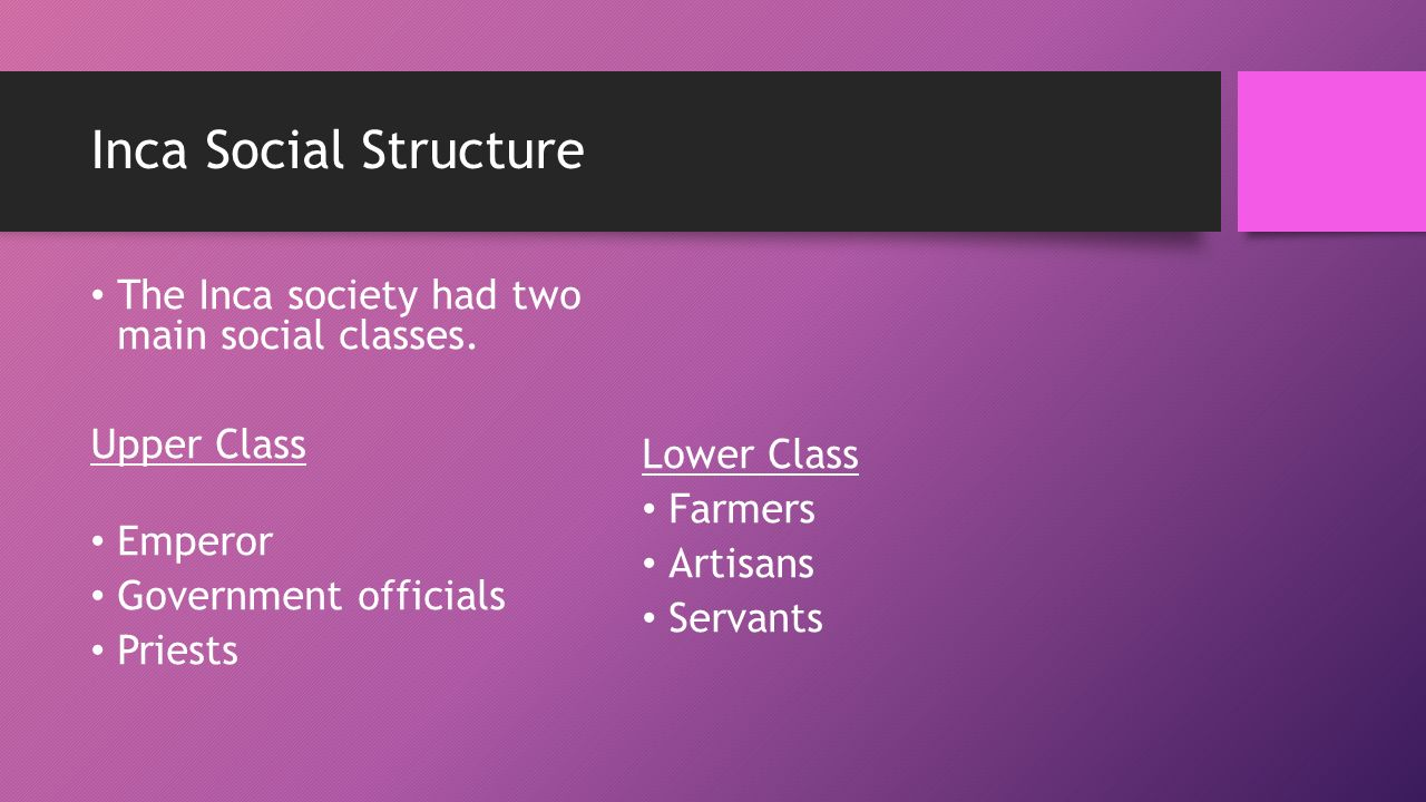 inca social structure in english - photo #26