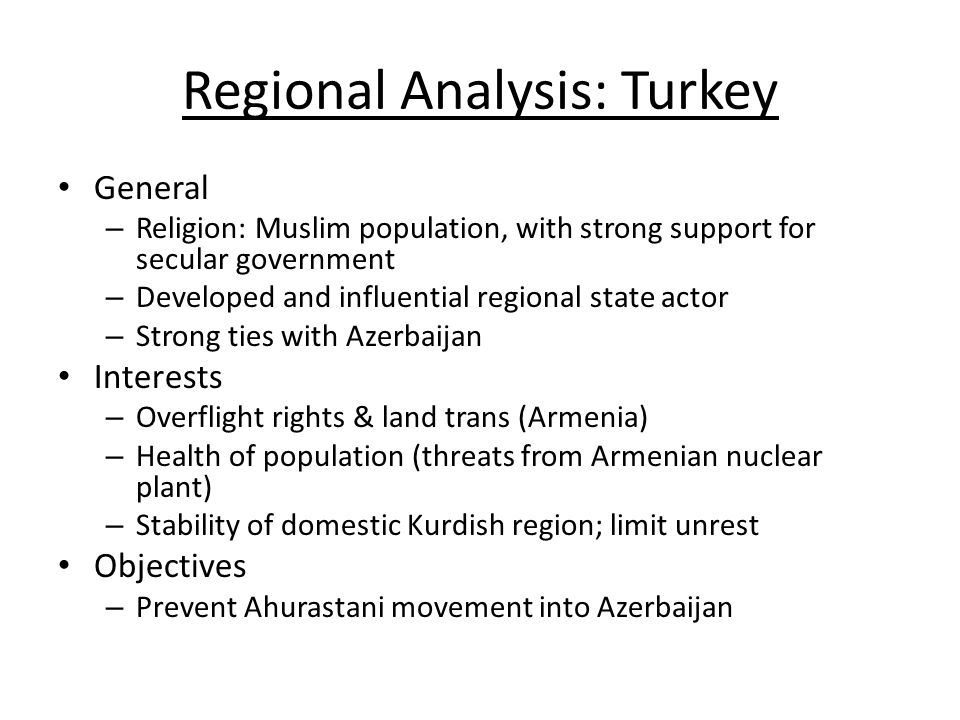 an analysis of the influence of the muslim religion in turkey Analysis interpretation of  the dividing line between the two names offers unexpected insight into how turkey's bid for influence in the muslim world has played out: between one region where .
