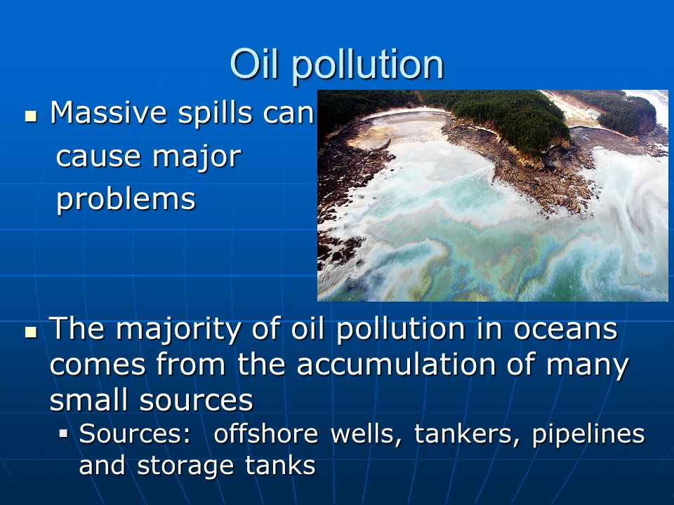 causes of marine pollution pdf
