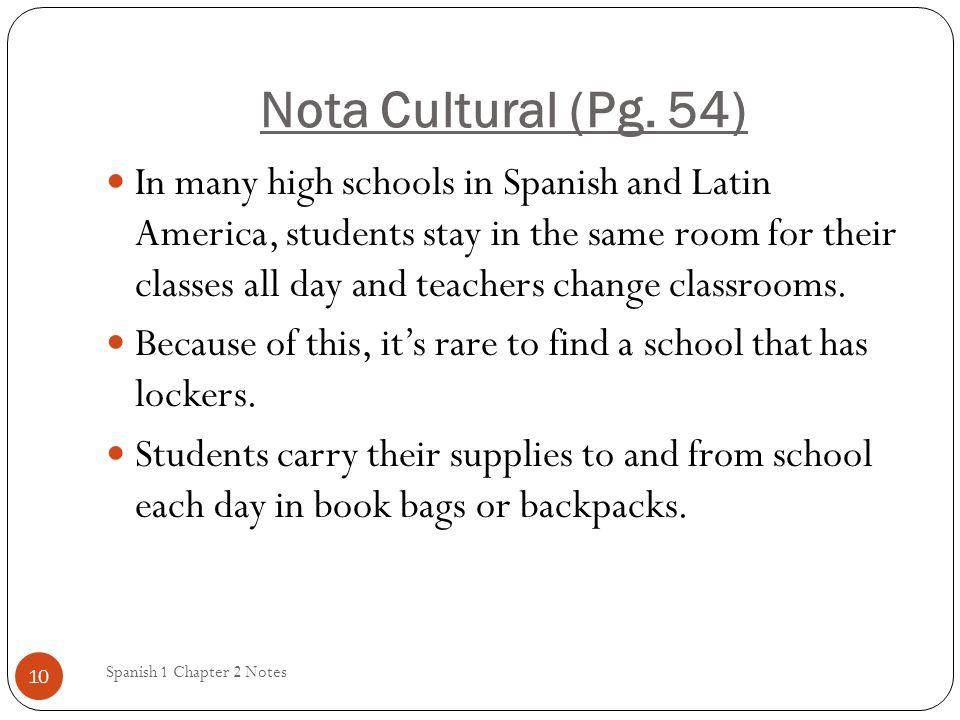 Nota Cultural (Pg. 54)