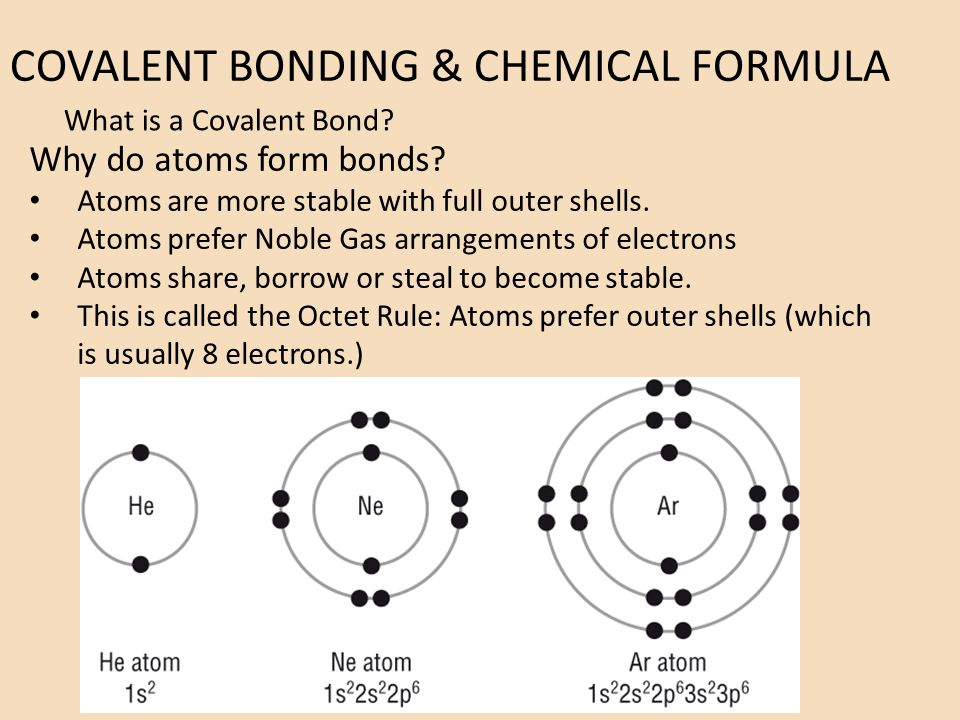 how to write covalent formulas