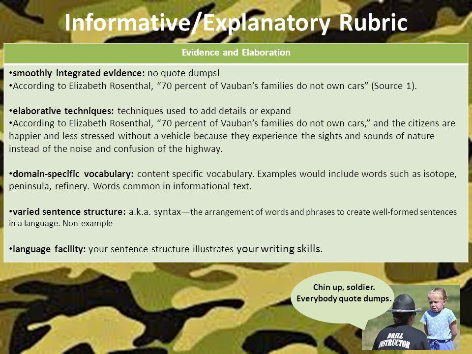 Explanatory essay nature
