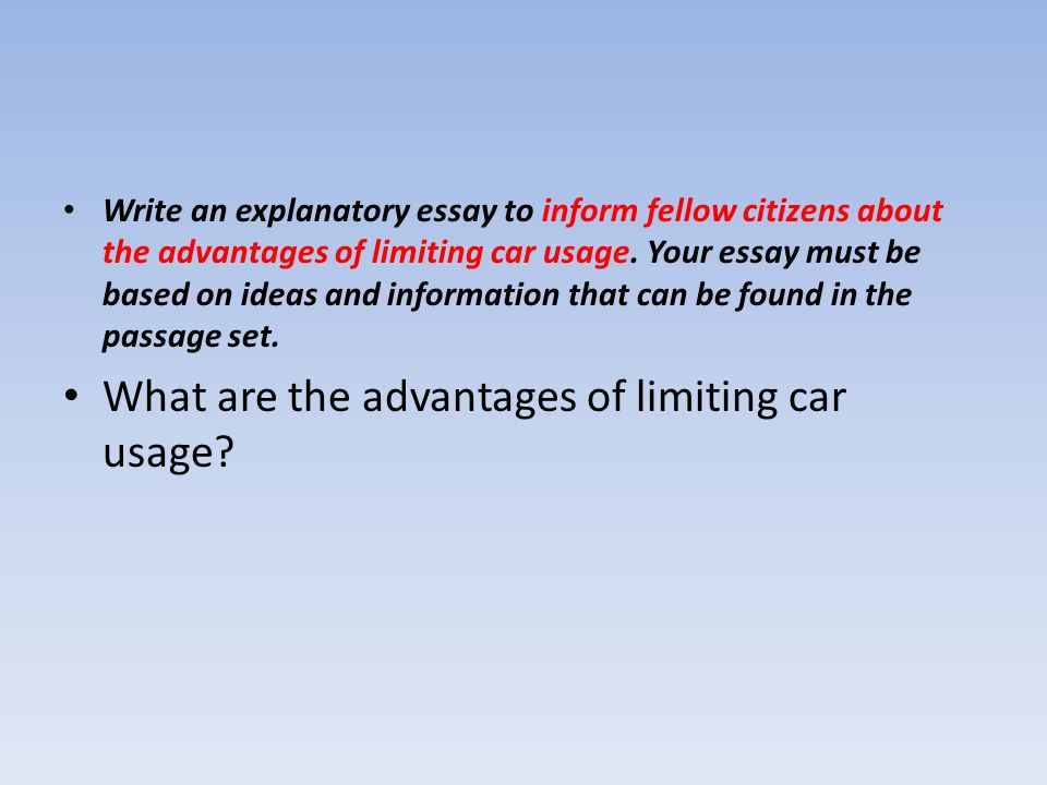 advantages of cars essay Advantages and disadvantages of owning a car essay: short essay help finishing up these essays sr cobranza bersuit analysis essay compare and contrast essay best friends.