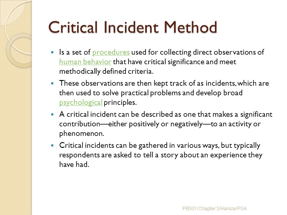 What Are the Advantages of the Critical Incident Method of Performance Appraisal?
