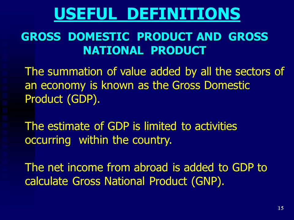 What is GDP and why is it so important to economists and investors?