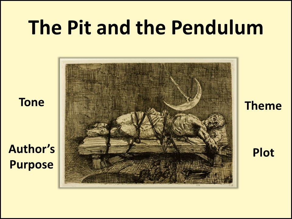 the pit and the pendulum theme