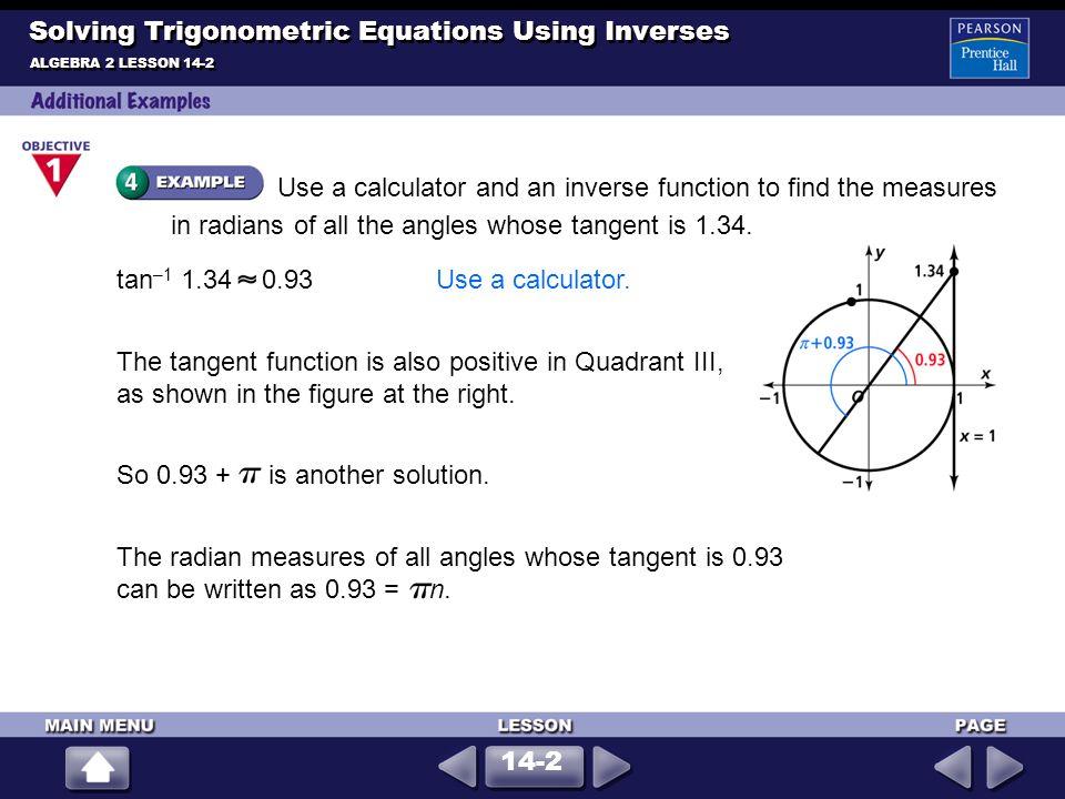 Solving Inverse Trigonometric Equations Pdf Tessshebaylo