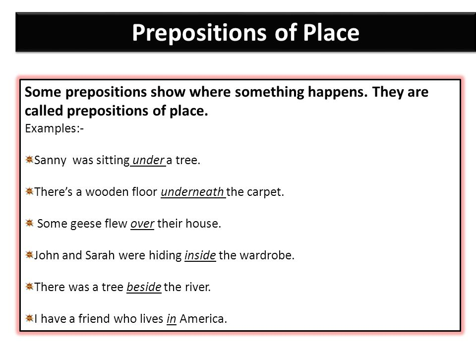 Objectives Identify Prepositions Ppt Video Online Download