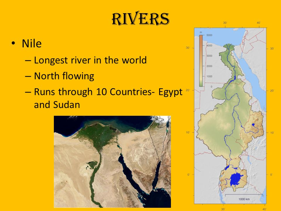 Landforms Of The Middle East And North Africa Ppt Video Online - 7 longest rivers in the world