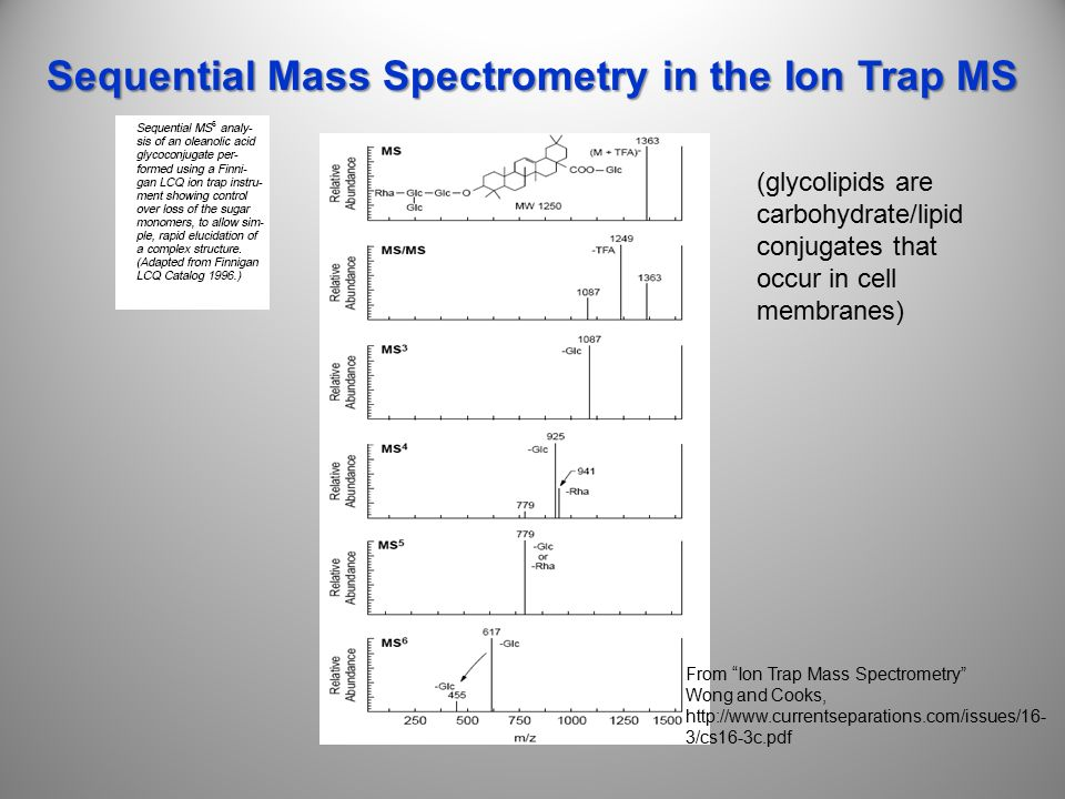 mass spectrometry for the novice pdf