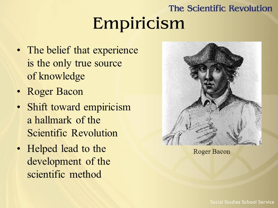 scientific method and empiricism Charles peirce (1839-1914) was highly influential in laying the groundwork for today's empirical scientific method although peirce severely criticized many elements of descartes' peculiar brand of rationalism, he did not reject rationalism outright.