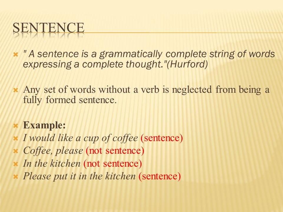 how to begin a sentence without i