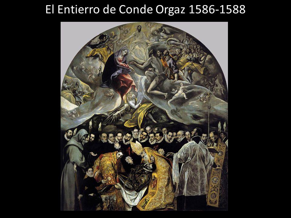 El Entierro de Conde Orgaz 1586-1588