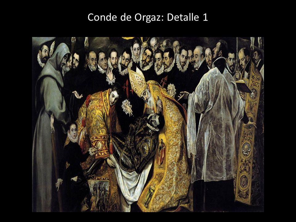 Conde de Orgaz: Detalle 1
