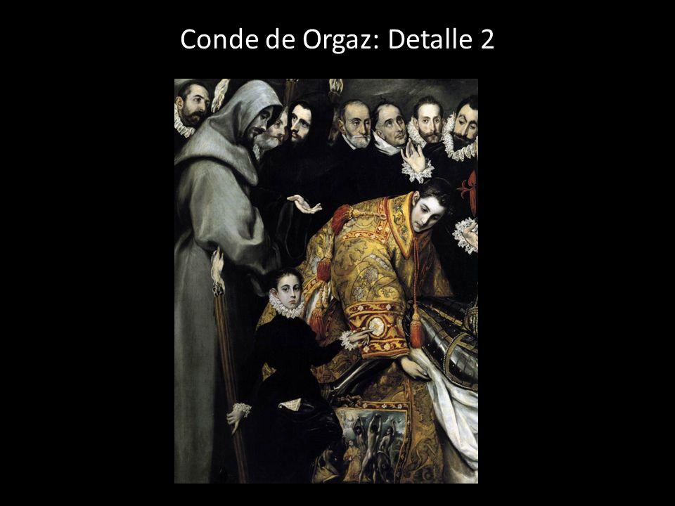 Conde de Orgaz: Detalle 2