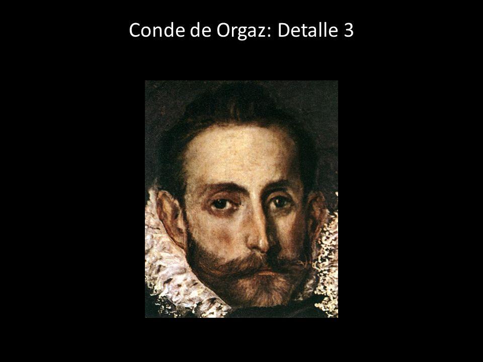 Conde de Orgaz: Detalle 3