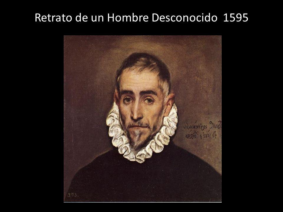 Retrato de un Hombre Desconocido 1595