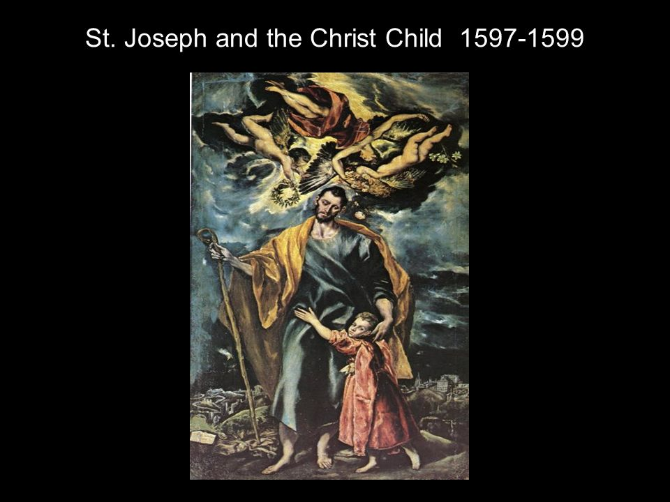St. Joseph and the Christ Child 1597-1599