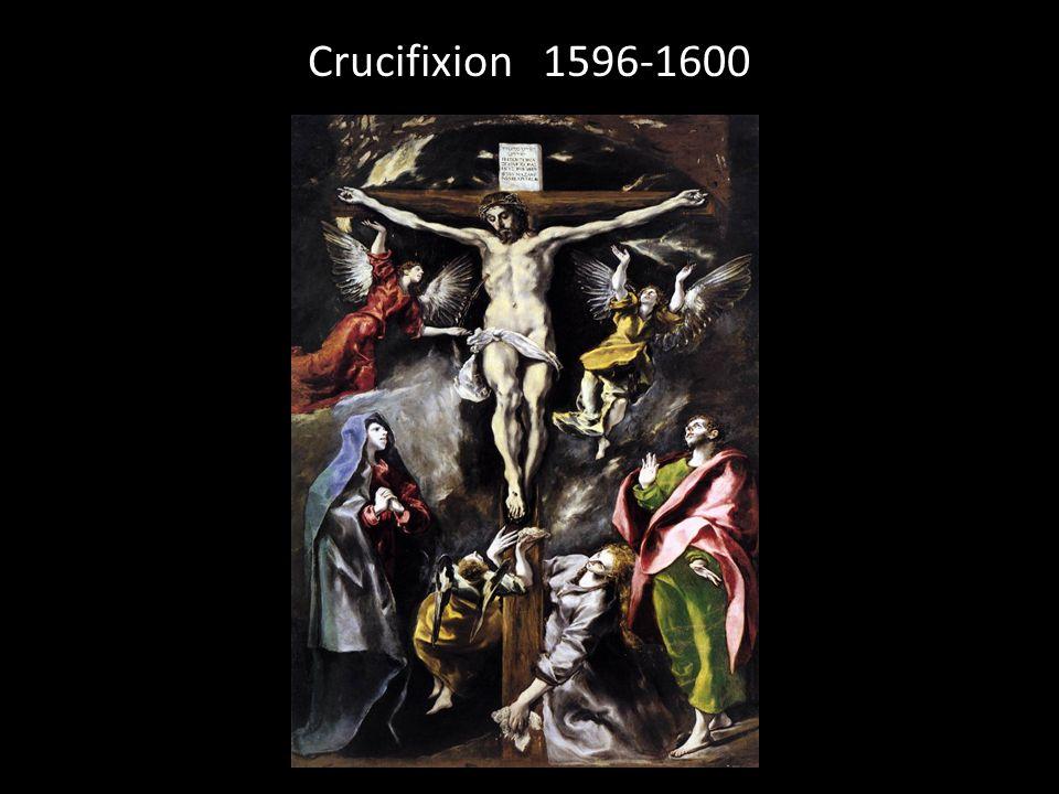 Crucifixion 1596-1600