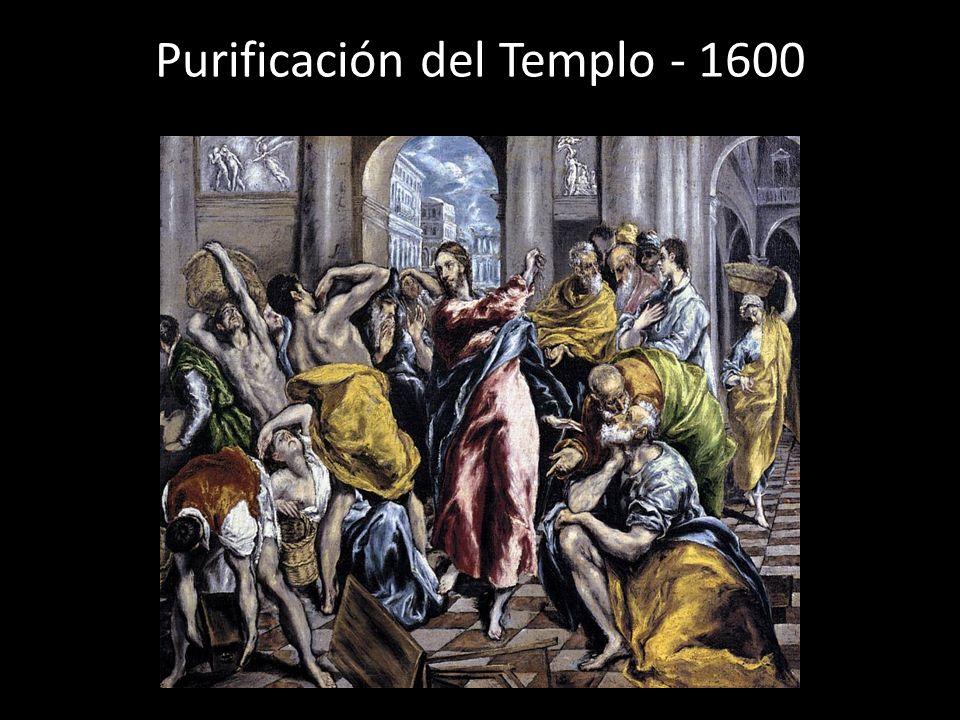 Purificación del Templo - 1600