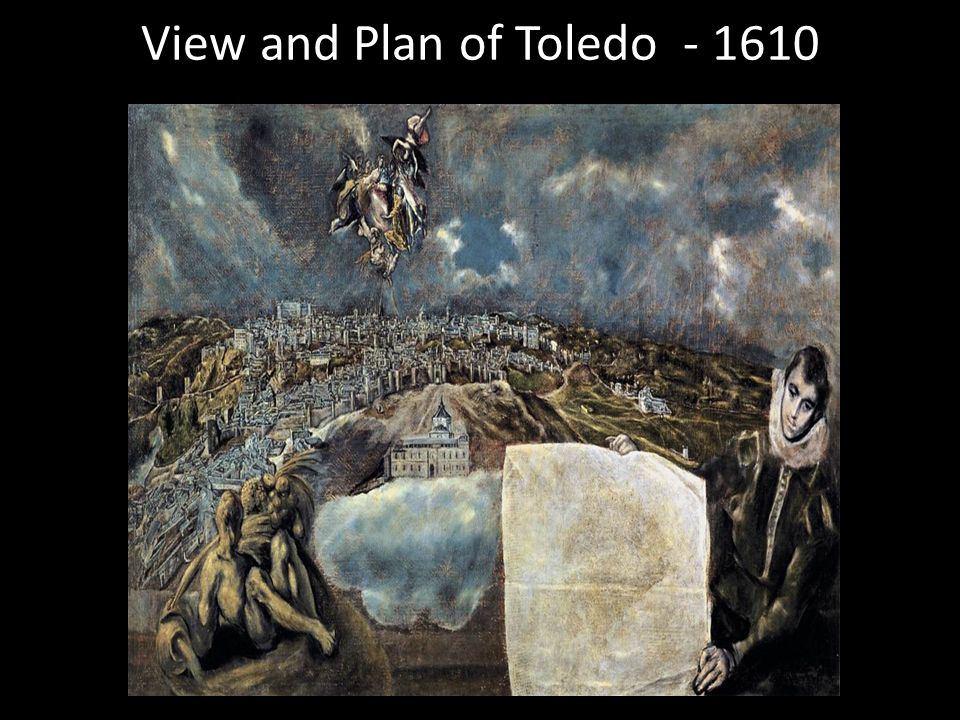 View and Plan of Toledo - 1610