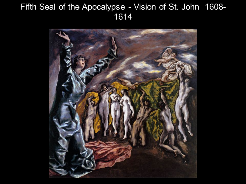 Fifth Seal of the Apocalypse - Vision of St. John 1608-1614