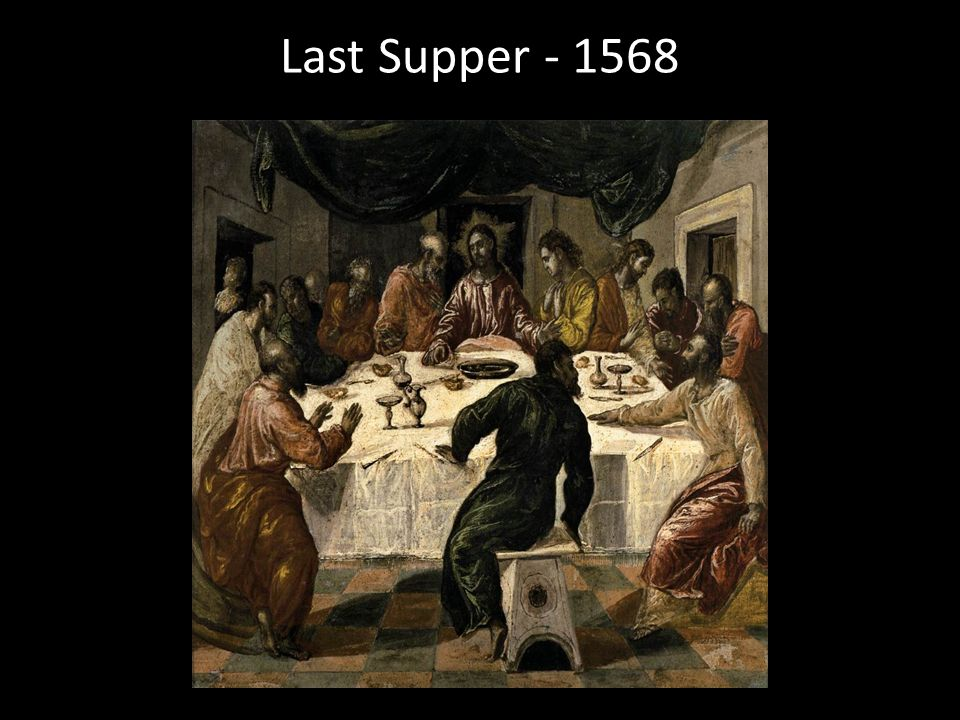 Last Supper - 1568
