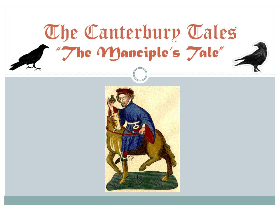 canterbury tales role of the Using the essay topics for the canterbury tales below in conjunction with the list of important quotes at the bottom of the page and argue about men's and women's roles in the context of an intimate relationship.