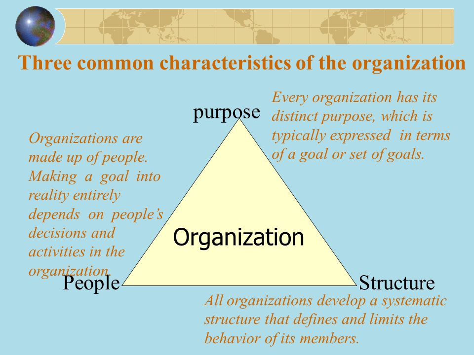 common characteristics of an organization essay Keys to success: 6 traits the most successful people have in common multi-bits—getty images by eric barker may 15, 2014 stanford.