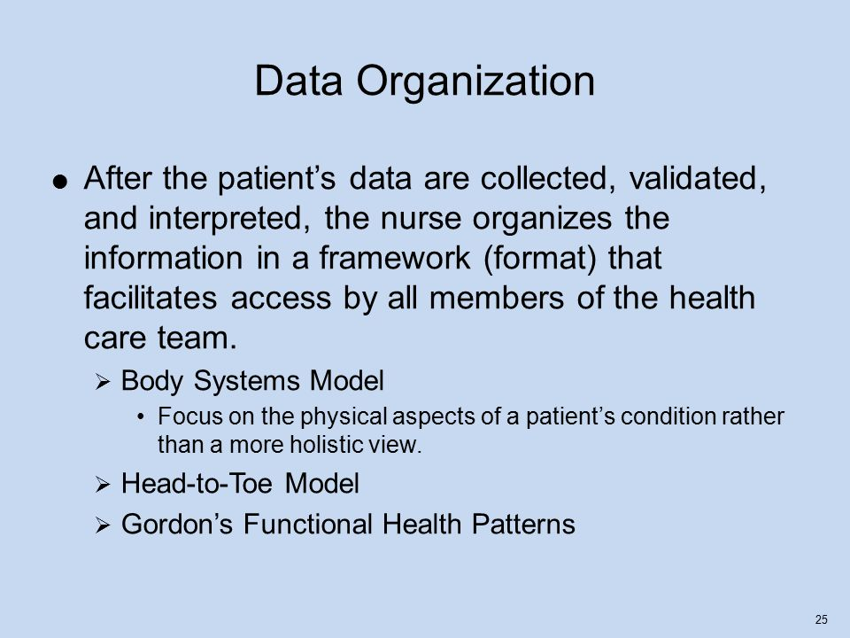 gordons 11 functional health patterns theory
