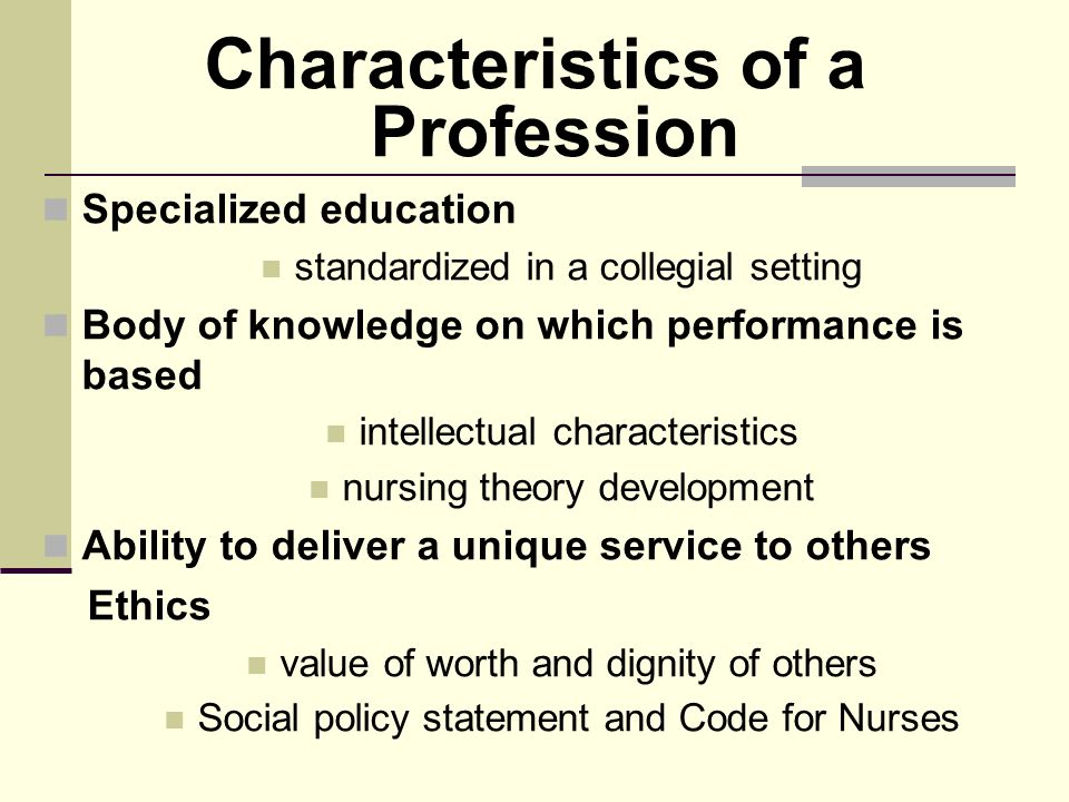 a study on the code of ethics in nursing