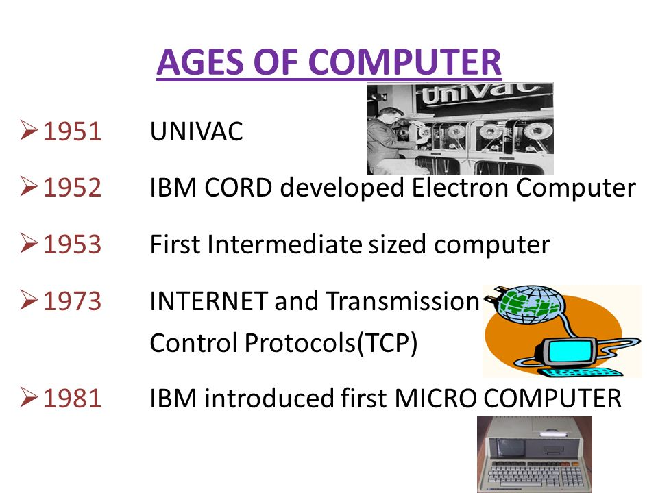 HISTORY OF MODERN COMPUTER - ppt video online download