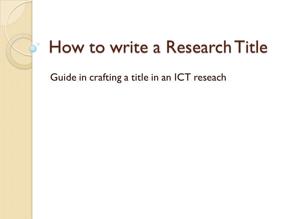 Research paper write services for publication ppt
