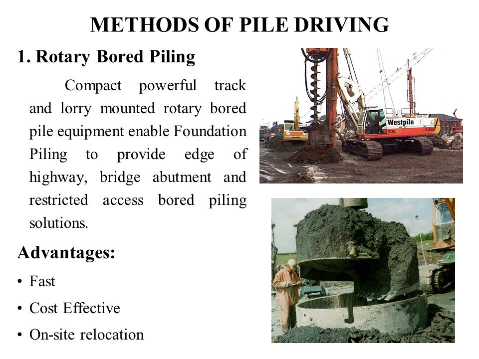 Cost of pilings for foundations 1500 trend home design for Cost of pilings for foundations