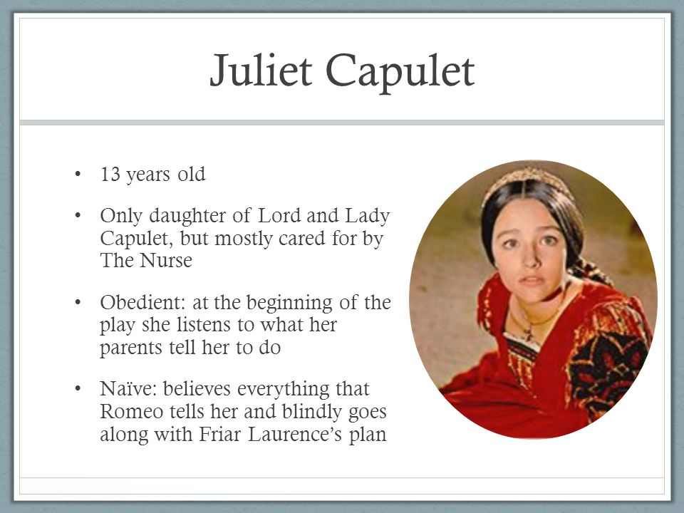 lord and lady capulet relationship trust