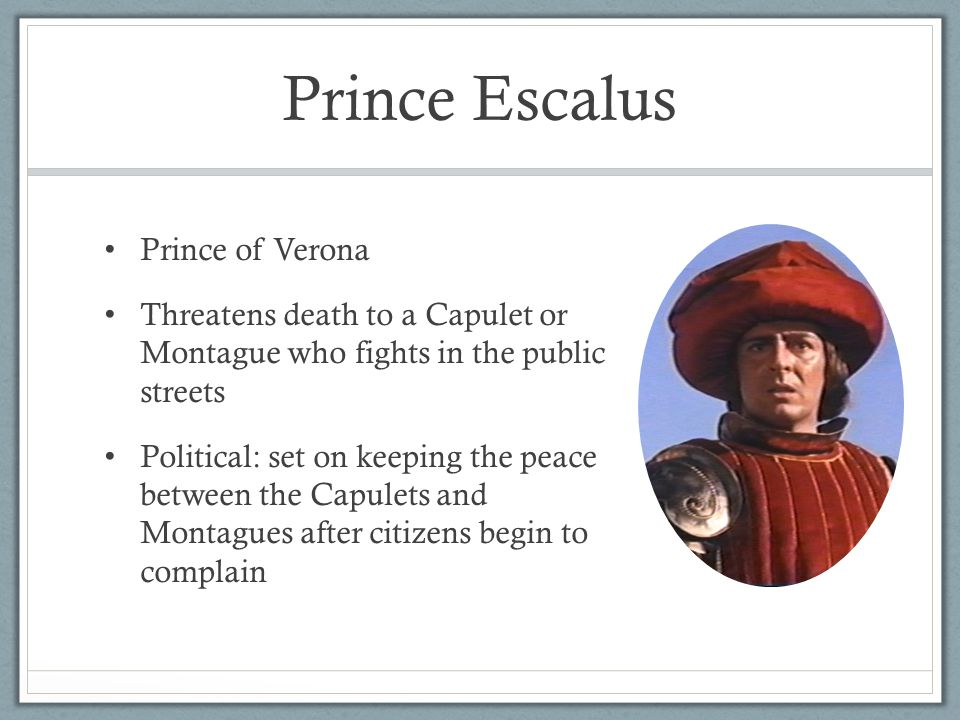 prince escalus' failure to keep peace Get an answer for 'what warning does prince escalus give the street brawlers in  act i, scene 1 of romeo and juliet  and benvolio fails in his attempt to quell  the disturbance taking place, tybalt  your lives shall pay the forfeit of the peace.