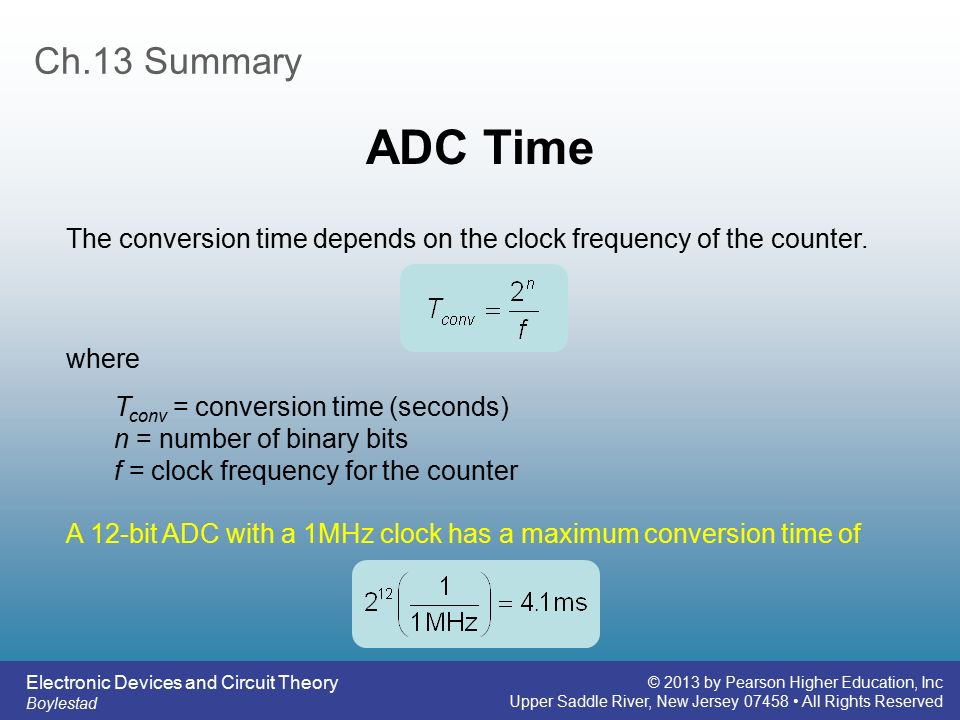 Frequency Counter Theory : Electronic devices and circuit theory ppt video online
