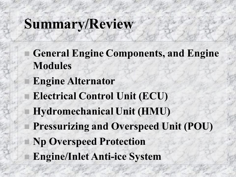 General Electric T 700 Engine Overview Ppt Video Online