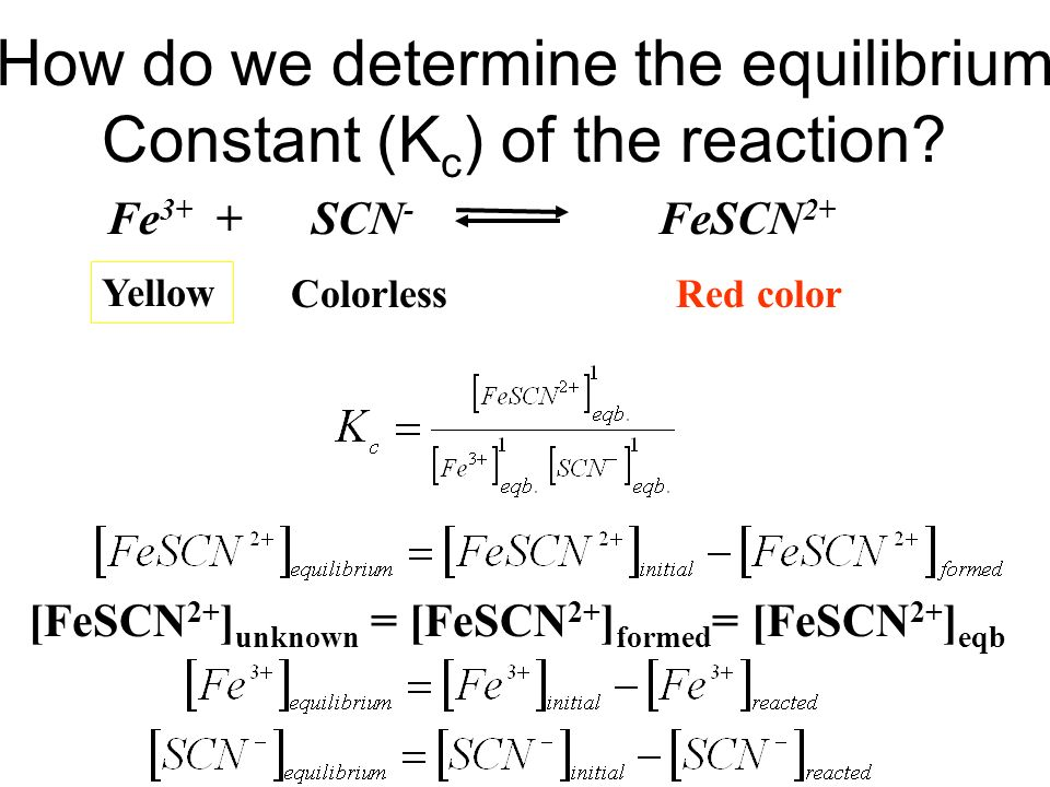 determining an equilibrium constant essay Reversible reactions, equilibrium, and the equilibrium constant k how to calculate k, and how to use k to determine if a reaction strongly favors products or reactants at equilibrium.