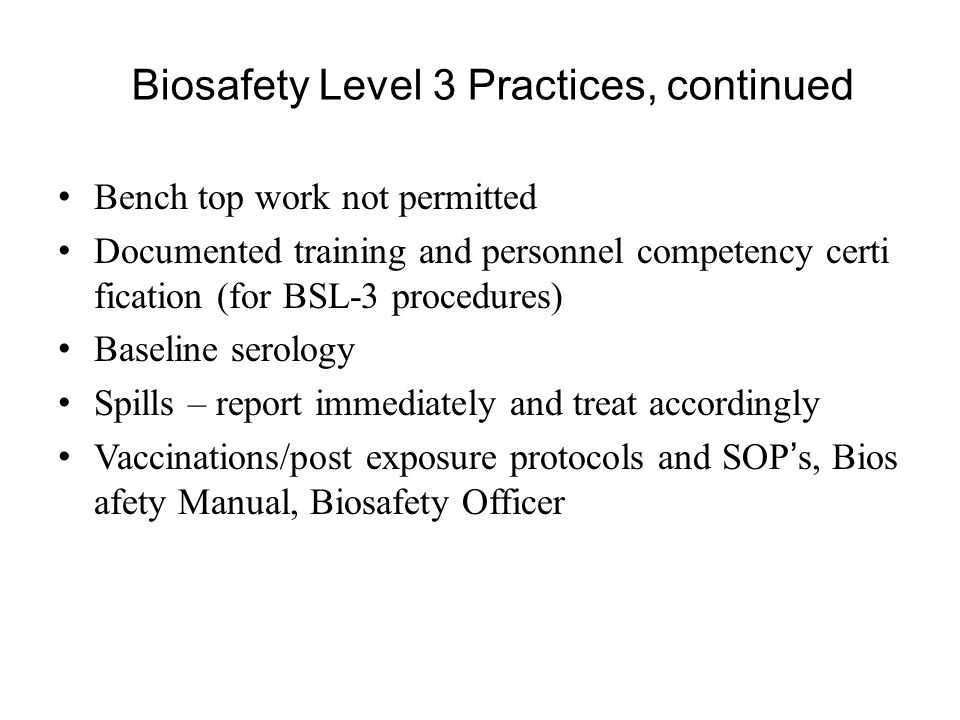 a report on international biosafety protocol The protocol includes an international register on biosafety managed by unep, which deals with the safe development, transfer and application of biotechnology many developing countries lack the technical, financial, institutional and human resources to address biosafety.