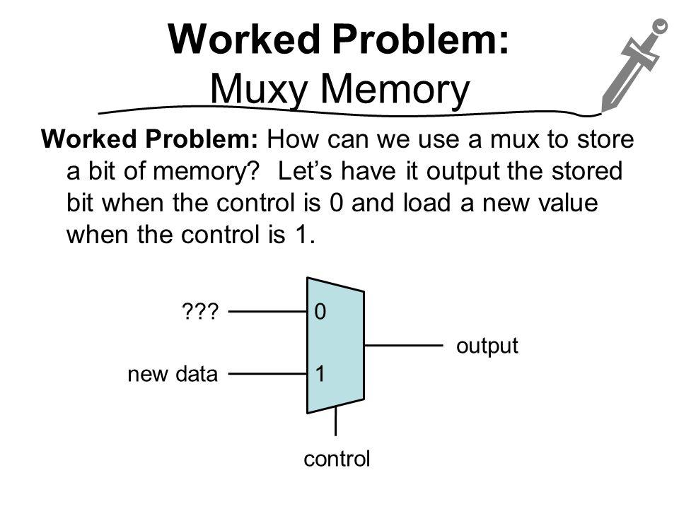 Worked Problem: Muxy Memory
