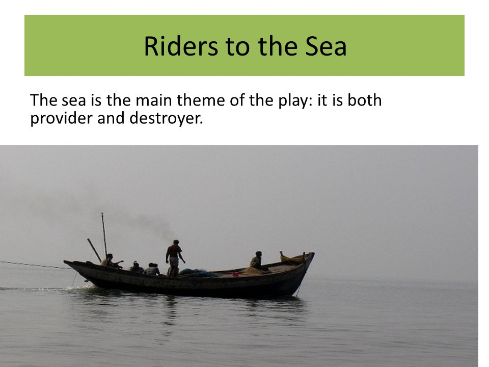 riders to the sea questions Riders to the sea, by ralph vaughan williams, adapted from the play by john millington synge by lauren dillier, ssu theatre arts minor riders to the sea dramaturg.