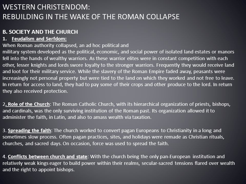 the roles of roman catholic church in western europe 1300 1700 Decline of the church details category: history 103 week 5 published on saturday in western europe the contrasting political trends clearly evident at the end of the thirteenth century roman catholic christianity spread throughout the west.