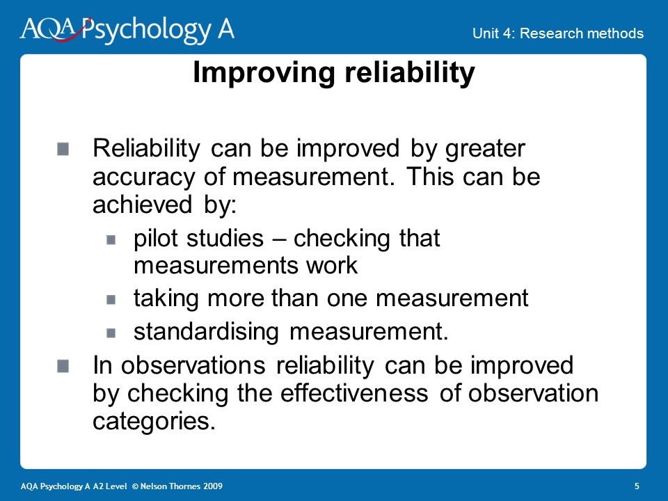 types of reliability in research pdf