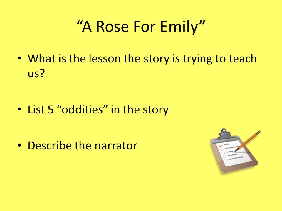a rose for emily fathers